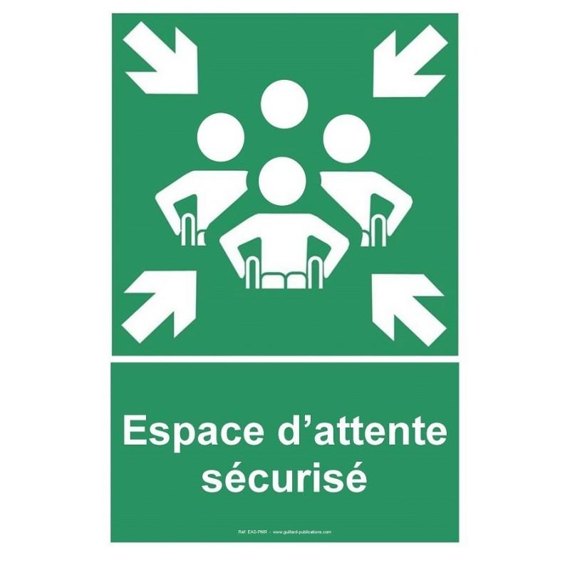 Panneau espace d'attente sécurisé PMR - GUILLARD