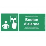Panneau Signal bouton d'alarme pour PMR