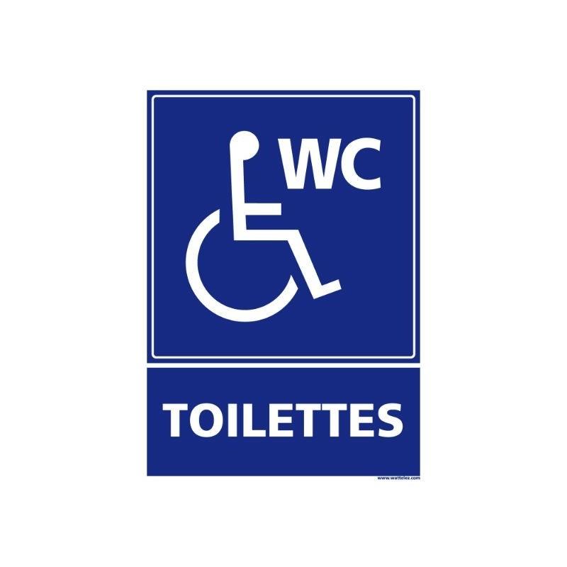 Signalétique accessibilité