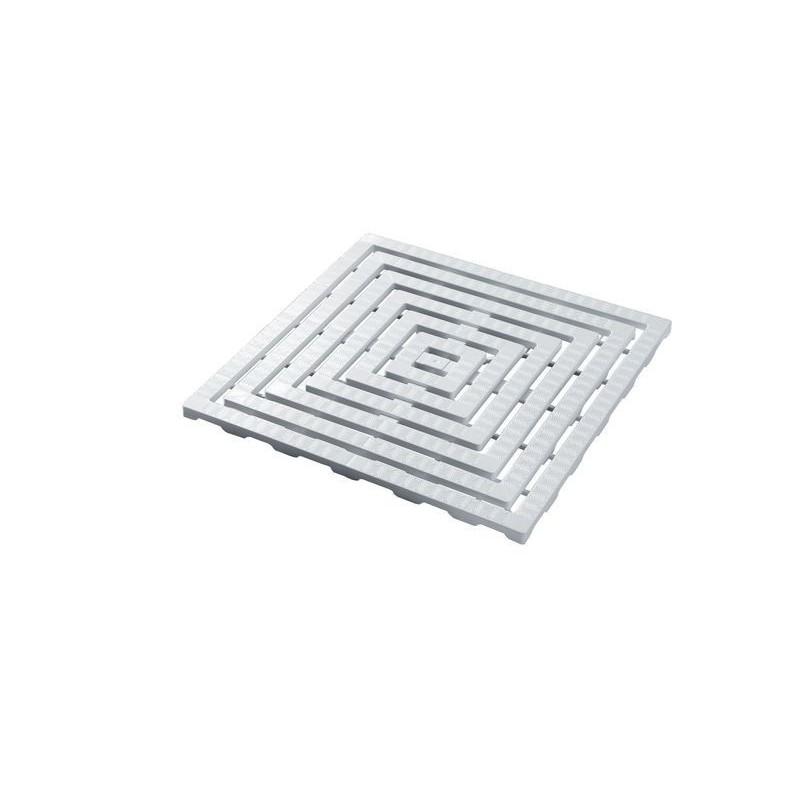 caillebotis antid rapant plastique blanc semi rigide accessibilite pmr de bonne qualit. Black Bedroom Furniture Sets. Home Design Ideas