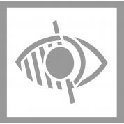 Pochoir handicap visuel en PVC