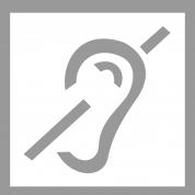 Pochoir handicap auditif en PVC MDH POCHOIR177