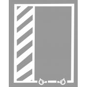 Kit place de parking Handicap en PVC