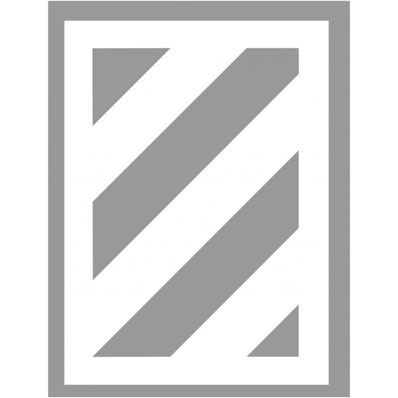 Pochoir zebra 45 degré en PVC