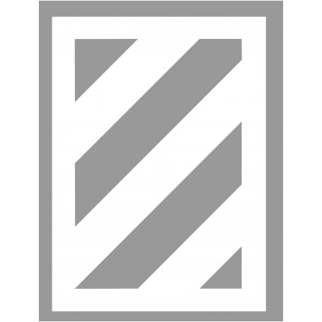 Pochoir zebra 45 degré en PVC - MDH