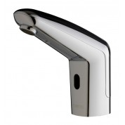 Robinet électronique Volta Prestogreen pour lavabo en métal