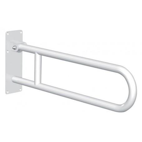 barre d'appui relevable Basic époxy blanc sans béquille