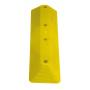 Séparateur de voies Pargom en caoutchouc jaune