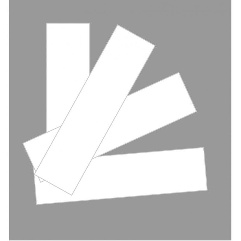 Kit extension (4 bandes de masquage) en PVC