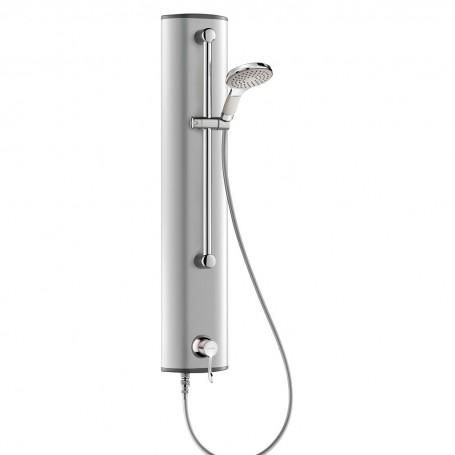 Panneau de douche séquentiel SECURITHERM en aluminium - Douchette