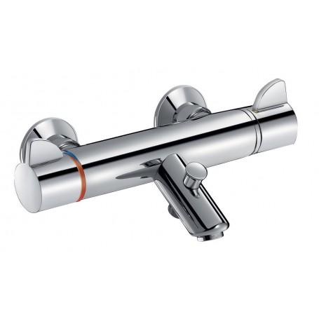 Mitigeur bain-douche SECURITHERM thermostatique en laiton chromé