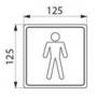 Silhouette Inox Homme - mesure