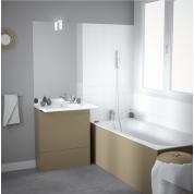 Mobilier salle de bain gamme Easy pack - Chêne Vert