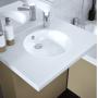 Mobilier salle de bain gamme Easy pack - Chêne Vert - lavabo
