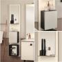 Mobilier salle de bain gamme Movibox - Chêne Vert - Illustration 1