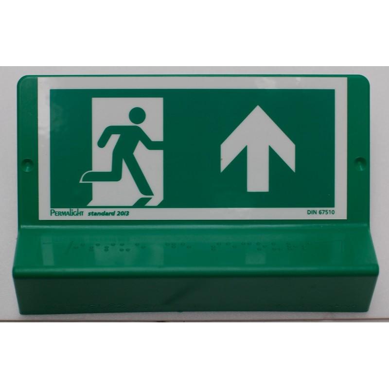 Support de signalisation symbole et braille