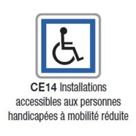 Panneau d'indication de services CE 14 - Ecolign