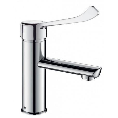 Mitigeur lavabo SECURITHERM H.85 L.120 sans vidage - DELABIE 2821LEP