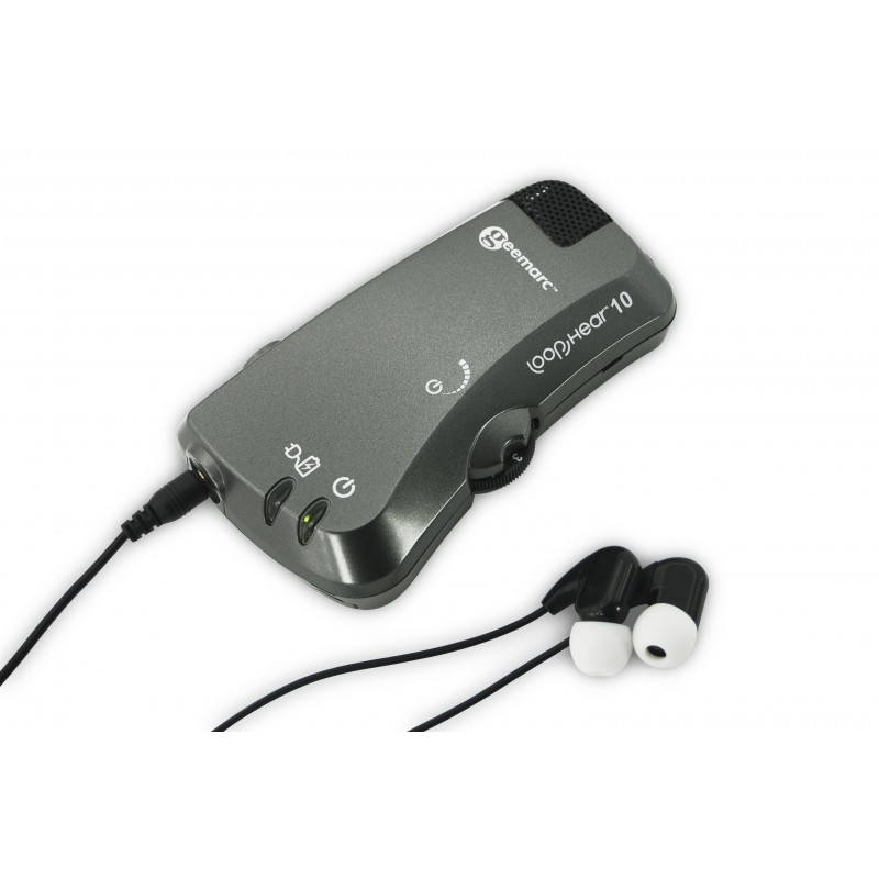 LH10 - Amplificateur d'écoute et récepteur de boucle magnétique