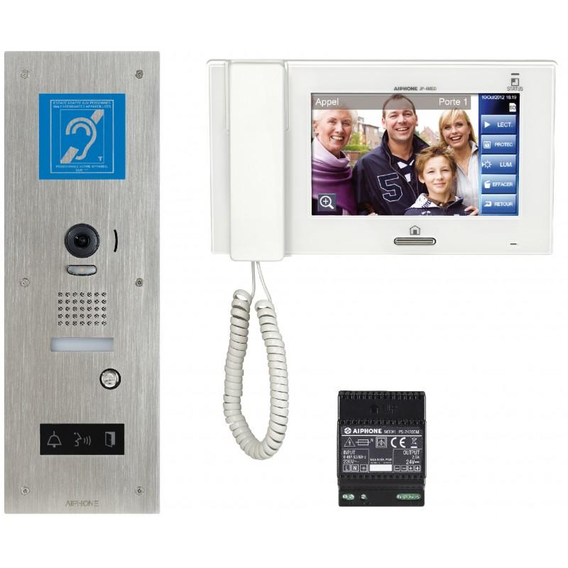 Kit vidéophone Aiphone - série JP Accessibilité