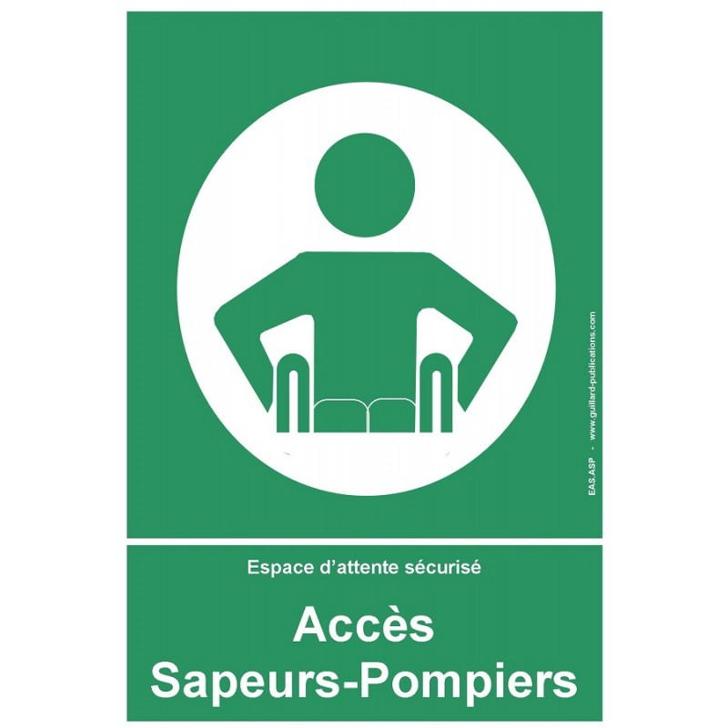 Panneau accès pompiers - EAS PMR