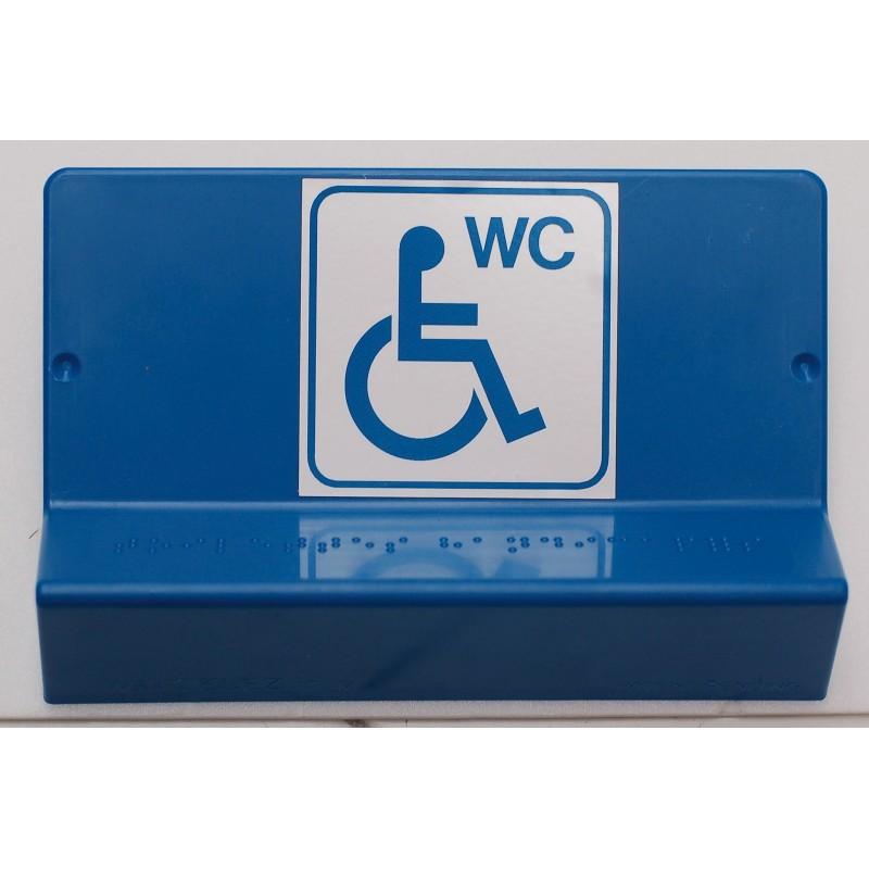Support de signalisation WC PMR