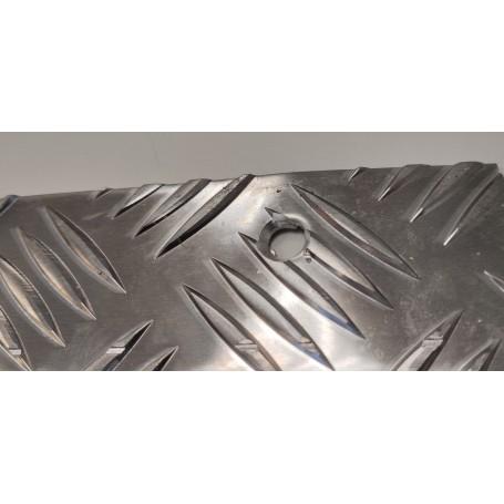 Lot de 10 Nez de marche MAYOL Aluminium - percé