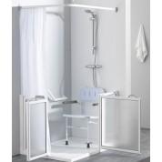 """Paroi Essentielle pour douche en """"Angle"""" - PMR"""