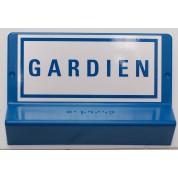 Support de signalisation GARDIEN symbole et braille