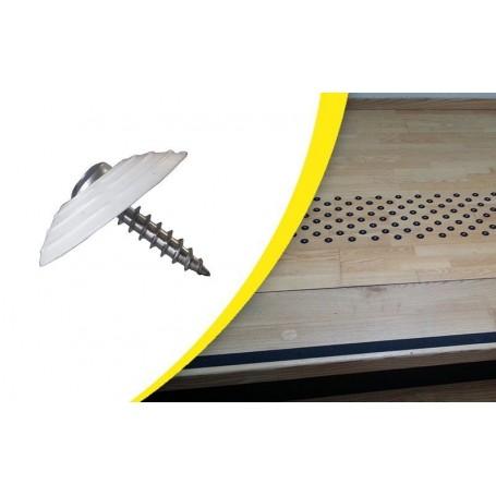 Kit de 200 Pastilles podotactiles de vigilance à visser WACCESS®