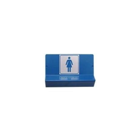 Support de signalisation WC femme
