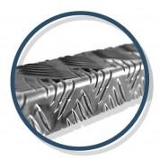 Nez de marche Mayol en aluminium naturel - zoom