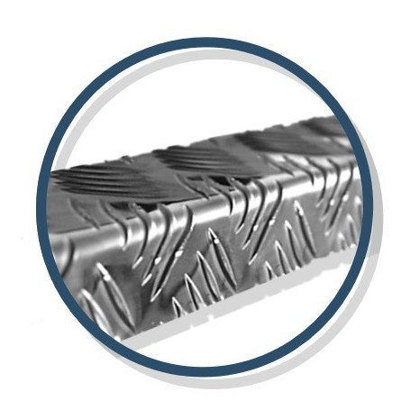 Nez de marche Mayol en aluminium naturel