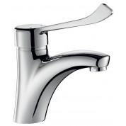 Mitigeur lavabo H.85 L.135 sans vidage - DELABIE 2521L