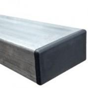 Poteau 80x40x2 en acier galvanisé à chaud