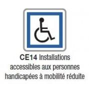 Panneau d'indication de services CE 14 - Bretagne - NADIA