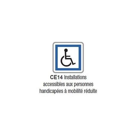 Panneau d'indication de services CE 14 - Bretagne