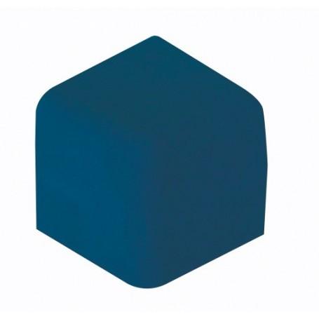 Coin anglisol à 90 degré sur 3 faces - bleu