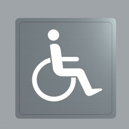 Silhouette Inox Handicapé