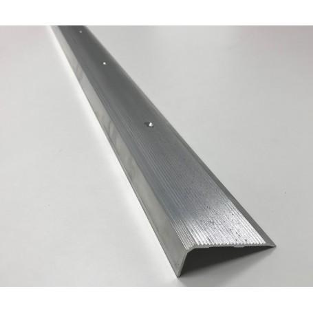 nez de marche aluminium avec ou sans perforation erp de. Black Bedroom Furniture Sets. Home Design Ideas