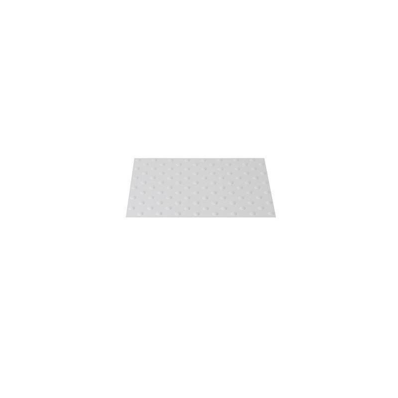445 x 400 mm noir Dalle podotactile auto adh/ésive