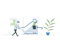 Mise aux normes accessibilité escalier erp