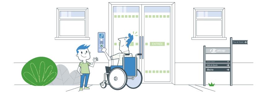 Signalétique accessibilité erp